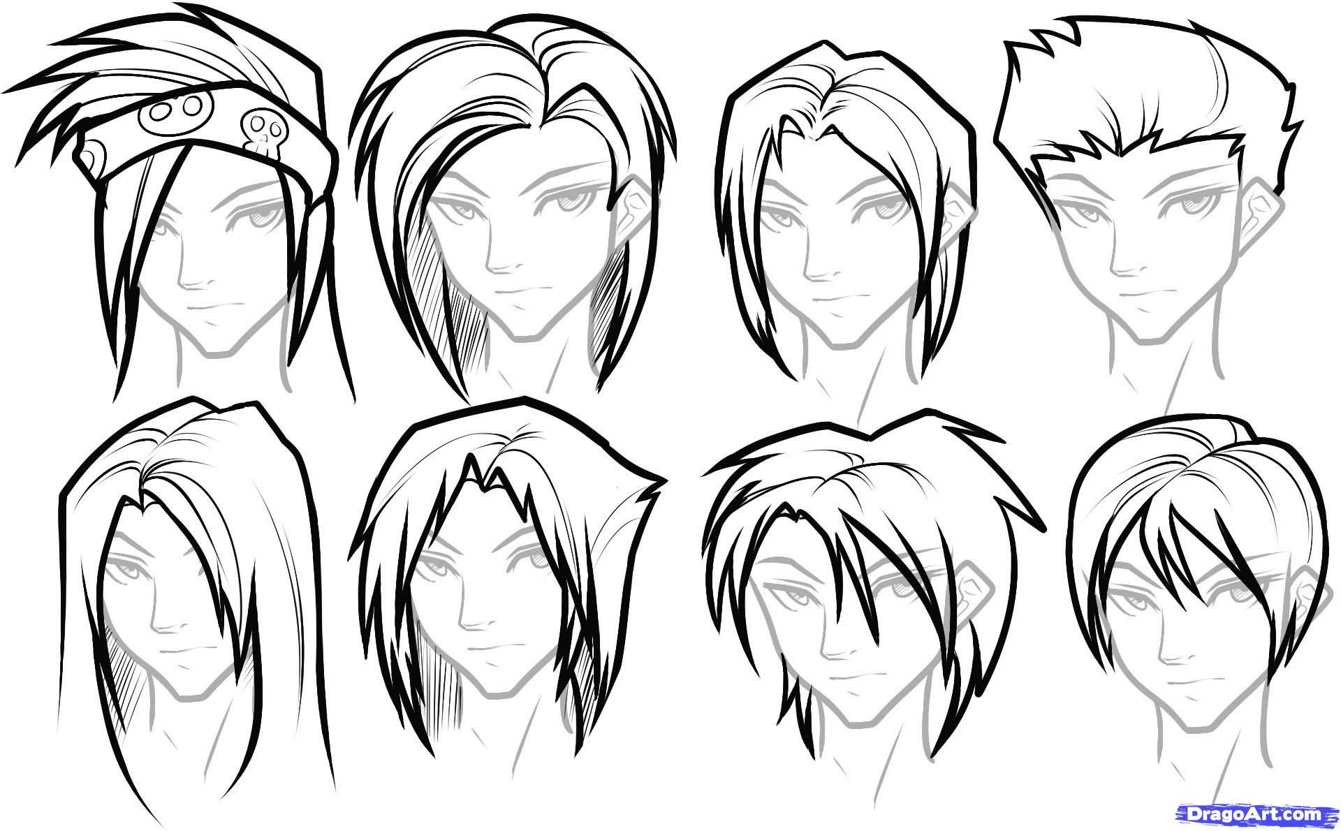 how to draw anime boys anime boy drawing hair drawing art ideas draw anime to boys how