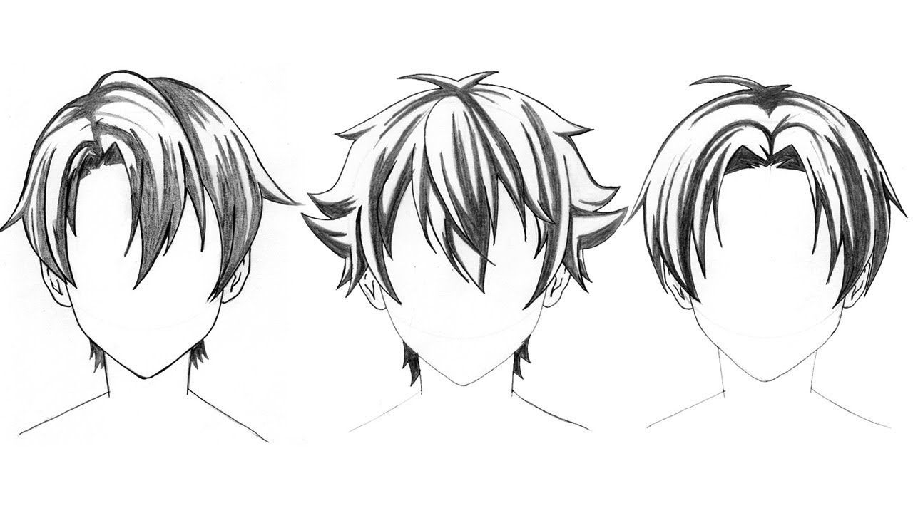 how to draw anime boys top 3 anime boy hair style drawing tutorial step by step to how anime draw boys