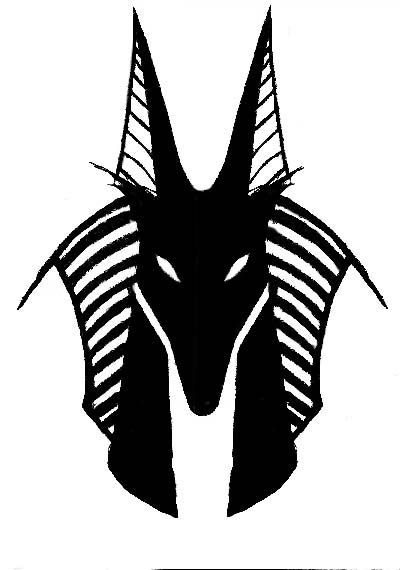 how to draw anubis step by step anubis clipart tribal pencil and in color anubis clipart by how draw step anubis to step