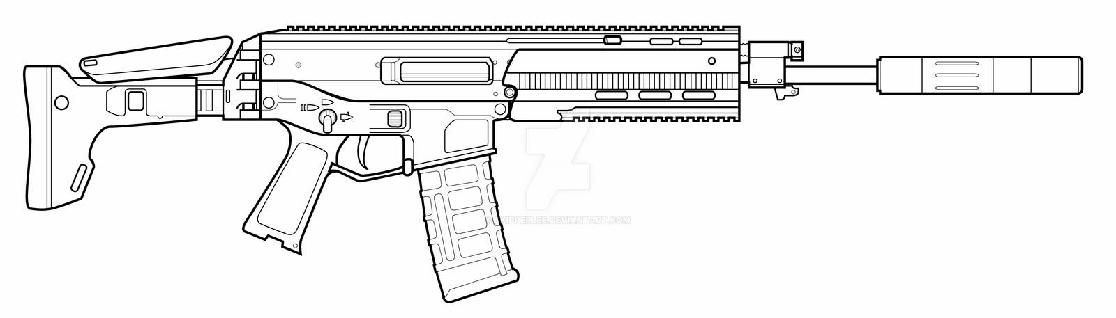 how to draw ar bushmaster acr by skipperlee on deviantart draw ar how to