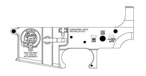 how to draw ar pin on guns how ar draw to