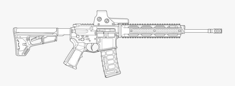 how to draw ar transparent ar15 clipart m4 drawing free transparent draw ar to how