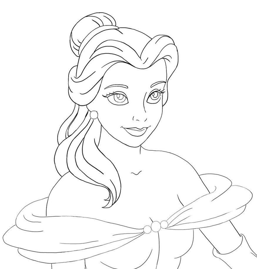 how to draw belle the princess belle outline by pinkiepiedare on deviantart princess the belle draw how to