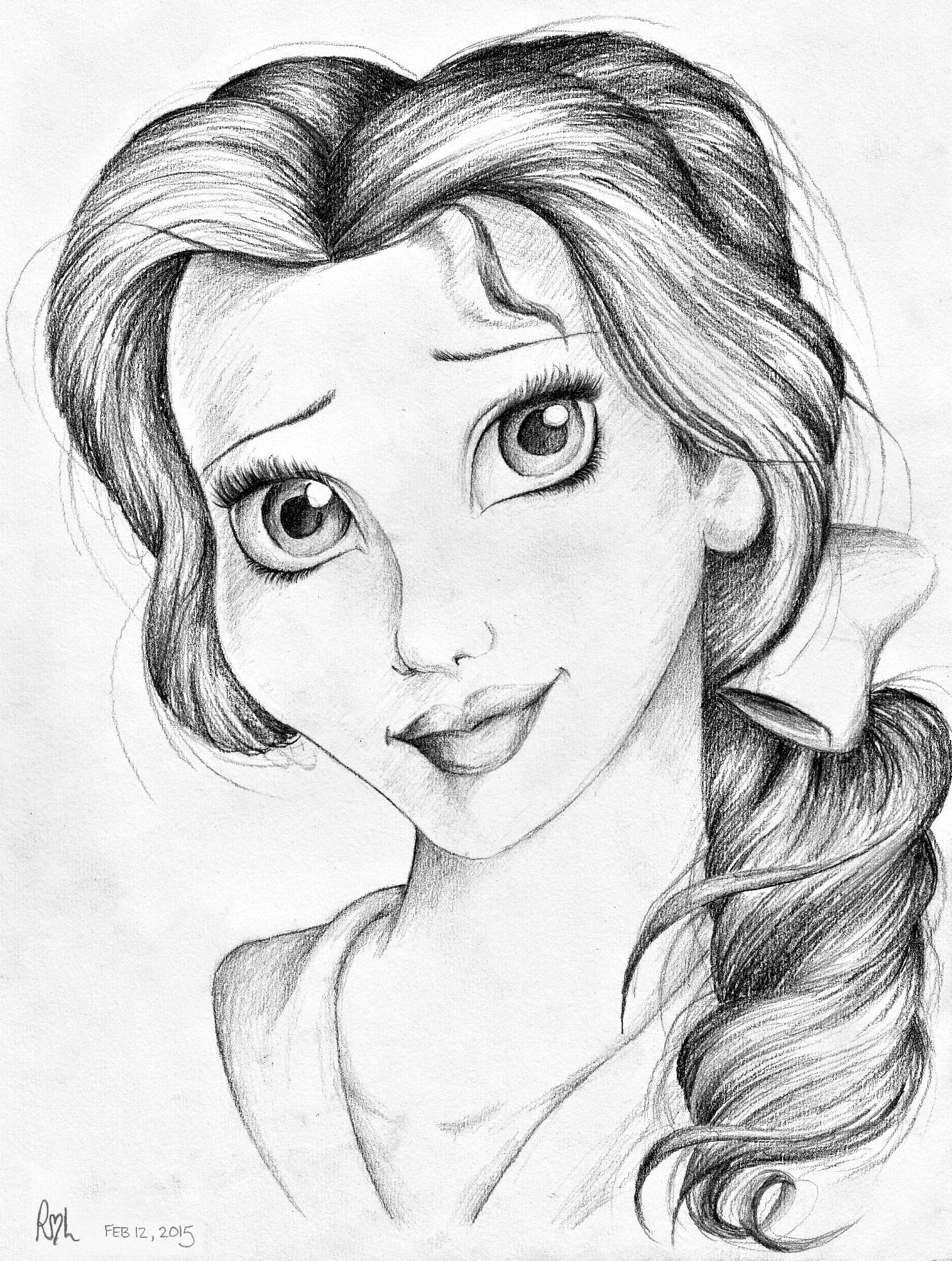 how to draw belle the princess how to draw belle belle photo 15257214 fanpop belle princess draw how the to