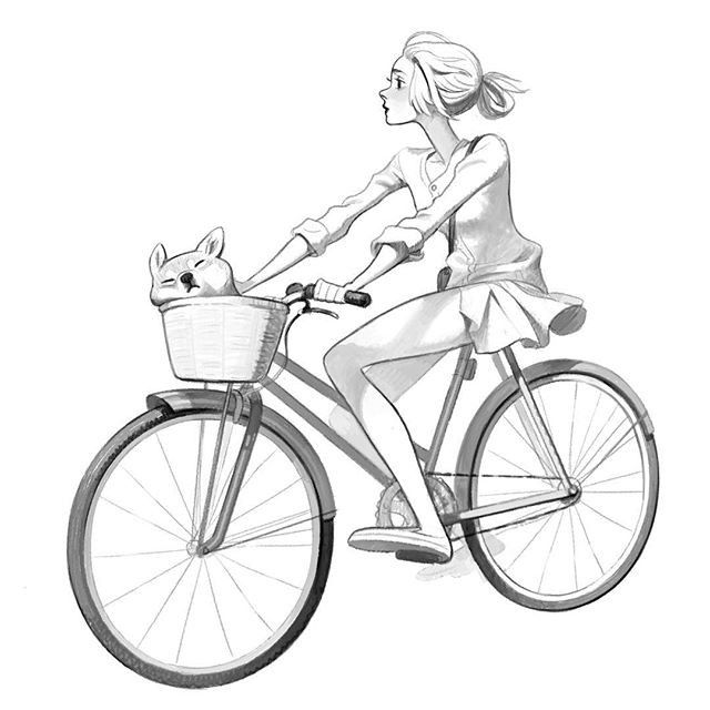 how to draw bicycle bicycle pencil drawing at getdrawings free download to draw how bicycle