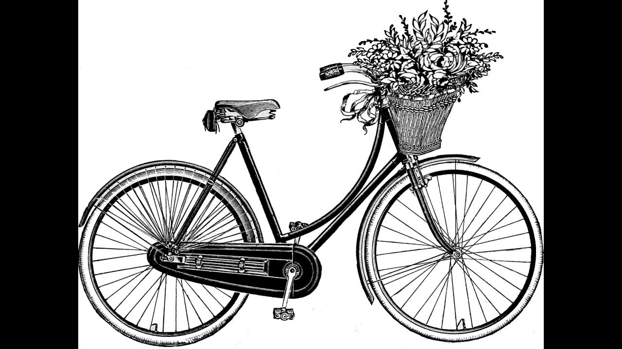 how to draw bicycle easy bicycle drawing at getdrawings free download to bicycle how draw