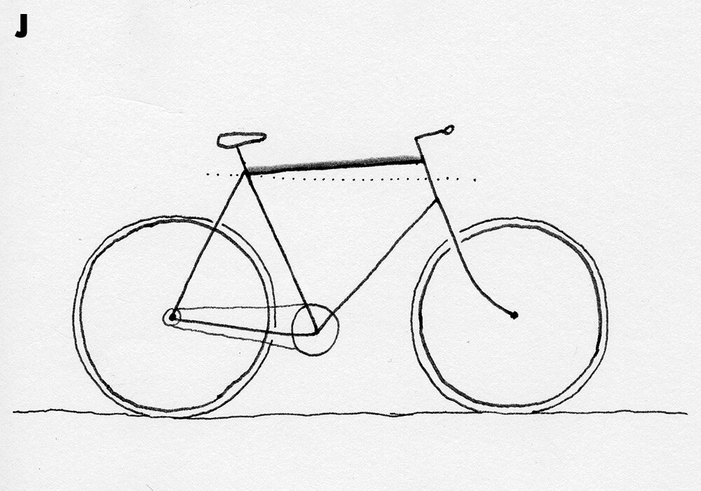 how to draw bicycle easy bicycle drawing bicycledrawing drawing in 2020 to how draw bicycle