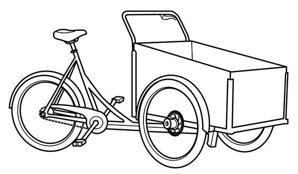 how to draw bicycle easy bike drawing at getdrawings free download how to draw bicycle