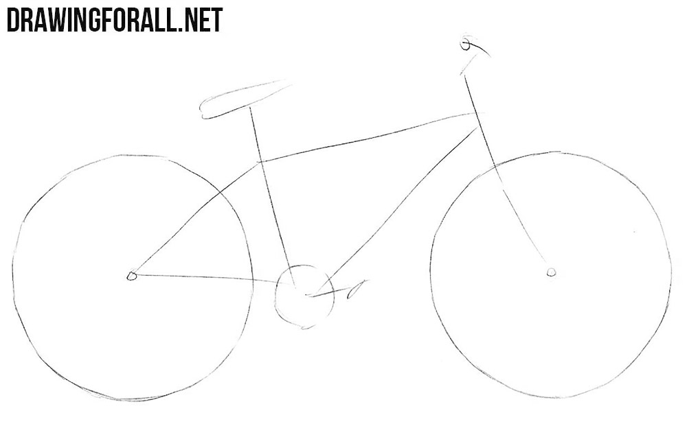 how to draw bicycle how to draw a bicycle chaz hutton medium bicycle draw to how