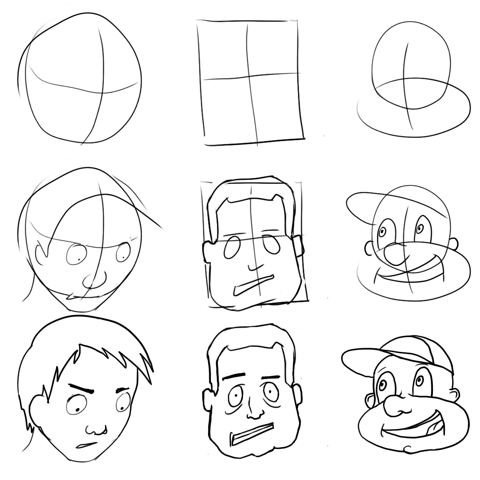 how to draw cartoon character easy cartoons drawing at getdrawings free download how character cartoon draw to