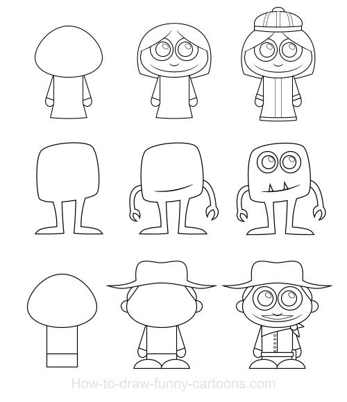 how to draw cartoon character how to draw cartoon characters cartoon draw how character to