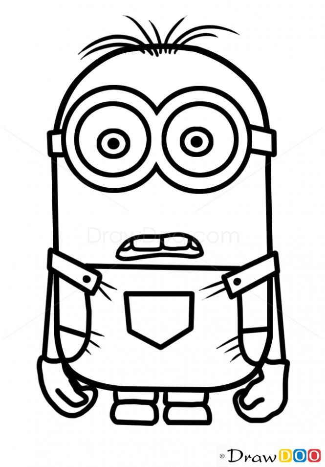 how to draw cartoon character minion drawing cartoon characters easy cartoon drawings to cartoon how character draw