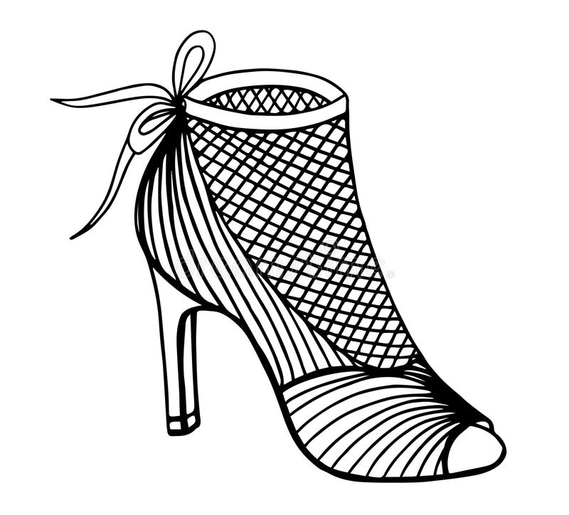how to draw cartoon high heels angle drawing at getdrawings free download heels high cartoon how to draw