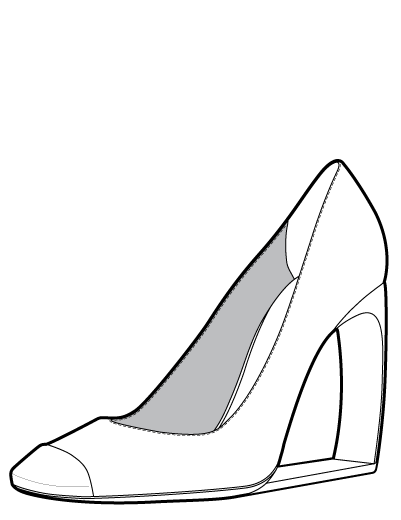 how to draw cartoon high heels cinderella silhouette outline at getdrawings free download draw high to cartoon heels how