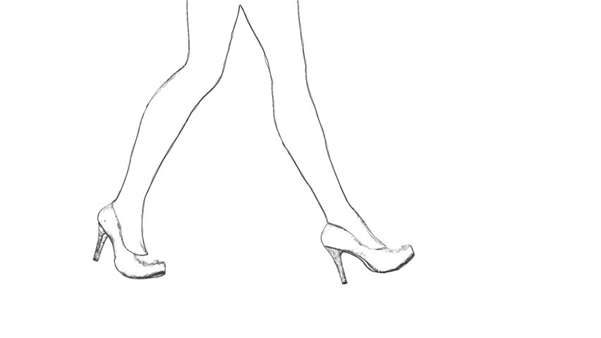 how to draw cartoon high heels hestia painting at paintingvalleycom explore collection high to heels draw cartoon how