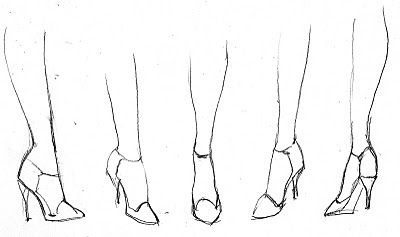 how to draw cartoon high heels sandals drawing at getdrawings free download high heels how cartoon to draw
