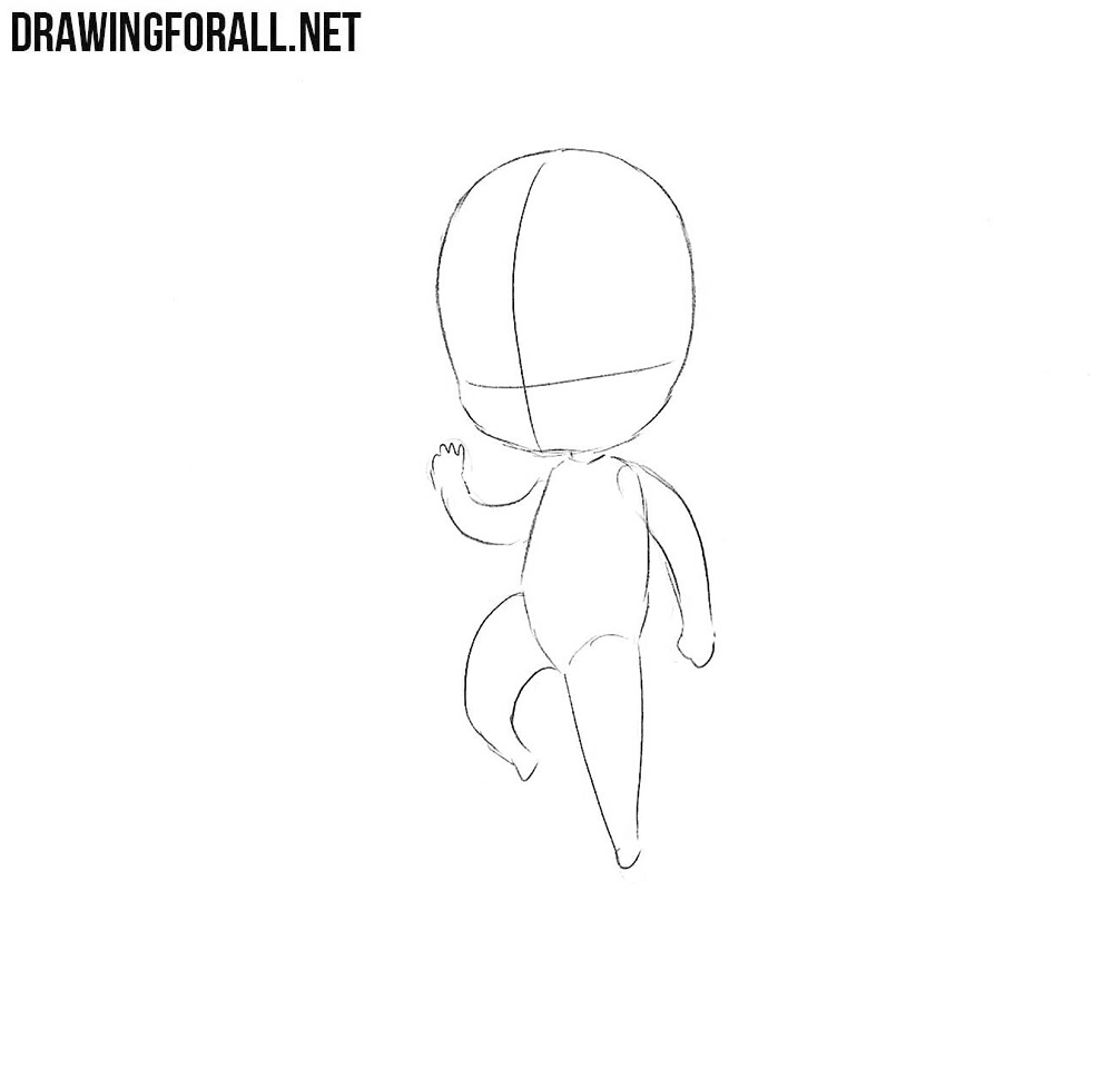 how to draw charecters how to draw a chibi character drawingforallnet to charecters how draw