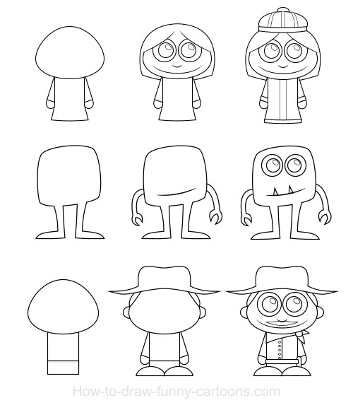 how to draw charecters smelly finger salute drawing a simple cartoon character draw to charecters how