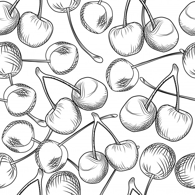 how to draw cherrys how to draw 10 different varieties of berry to how draw cherrys