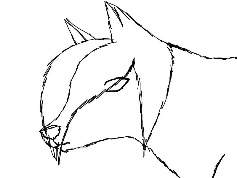 how to draw clawdeen wolf easy anime wolf howling drawing draw easy clawdeen wolf how to