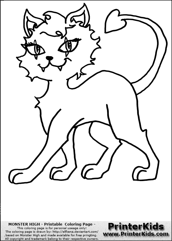 how to draw clawdeen wolf easy monster high crescent clawdeen wolfs pet coloring page wolf clawdeen draw easy to how