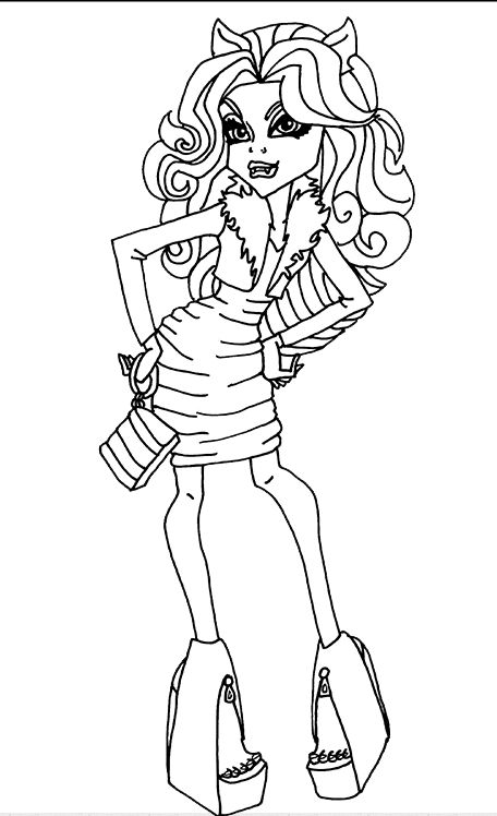 how to draw clawdeen wolf easy monster high para colorir clawdeen clawdeen monster high to clawdeen draw easy wolf how