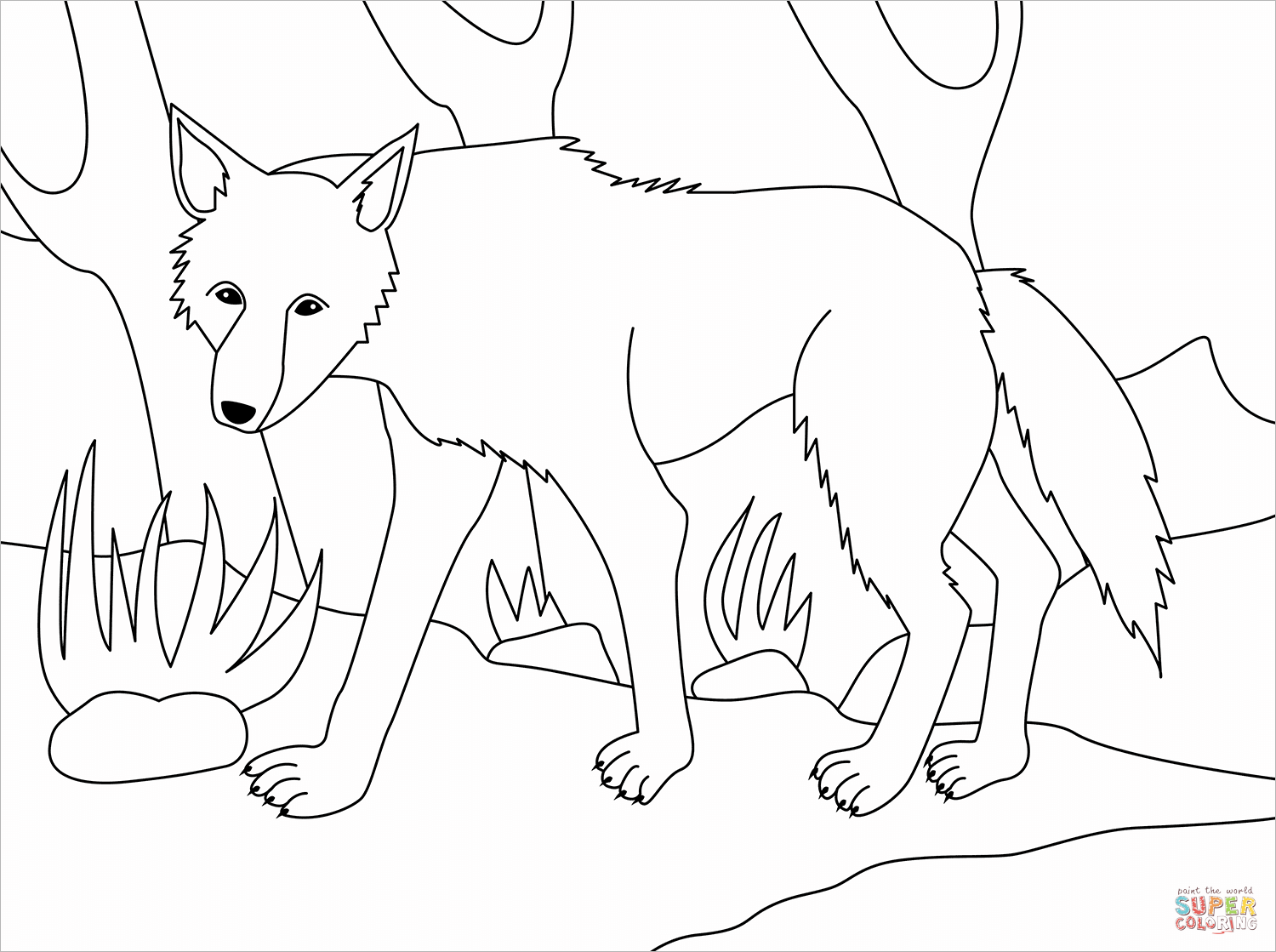 how to draw clawdeen wolf easy wolf coloring page free printable coloring pages clawdeen wolf easy to draw how