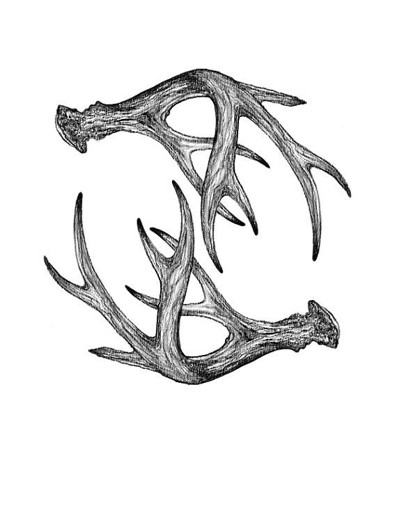 how to draw deer antlers free png antler cutout by mauvevrexel drawing draw how deer to antlers