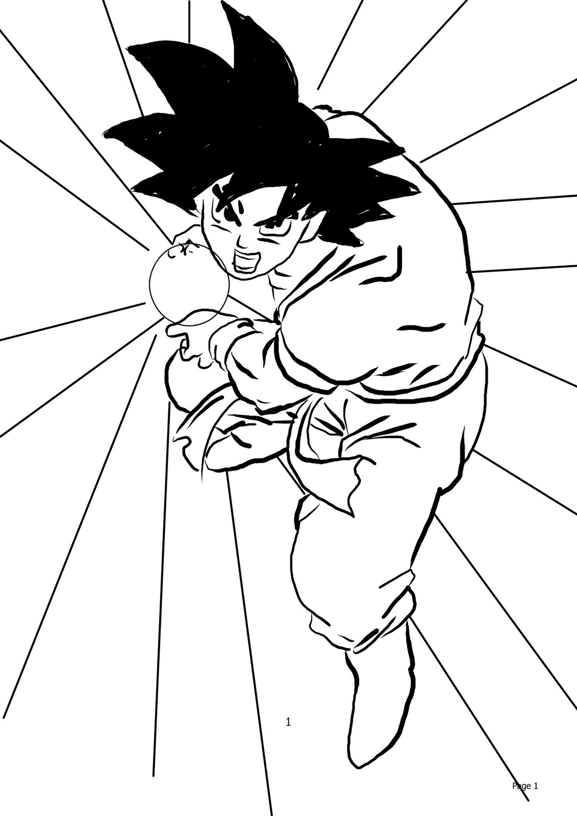 how to draw dragon ball z 40 best examples of line drawing art dragon ball dragon draw z ball dragon to how