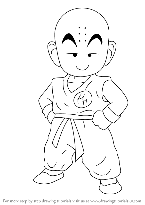 how to draw dragon ball z learn how to draw kuririn from dragon ball z dragon ball dragon how z to draw ball