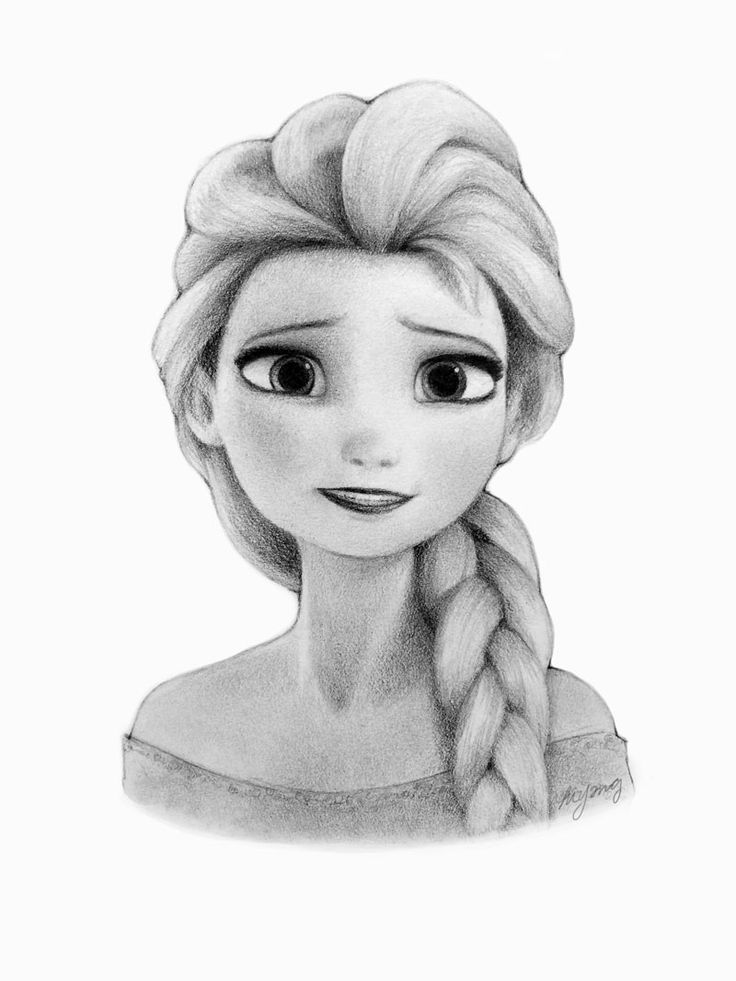 how to draw elsa from frozen easy drawing of elsa at getdrawings free download elsa from draw frozen how to
