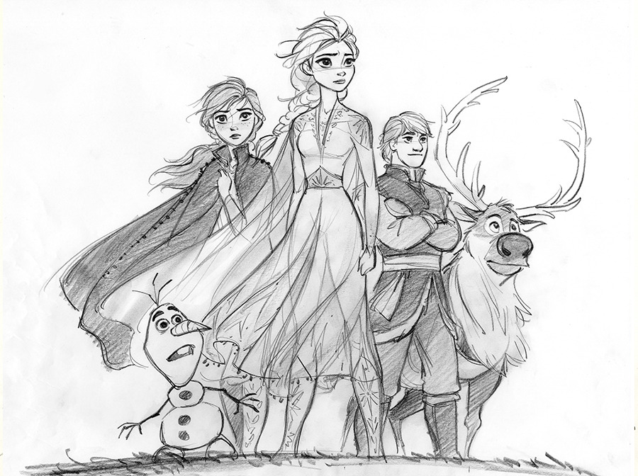 how to draw frozen characters frozen 2 is here finally so much fun to draw draw frozen characters how to