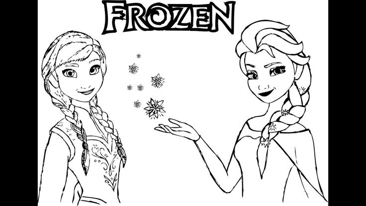 how to draw frozen characters frozen anna drawing and coloring for kids frozen to frozen draw how characters