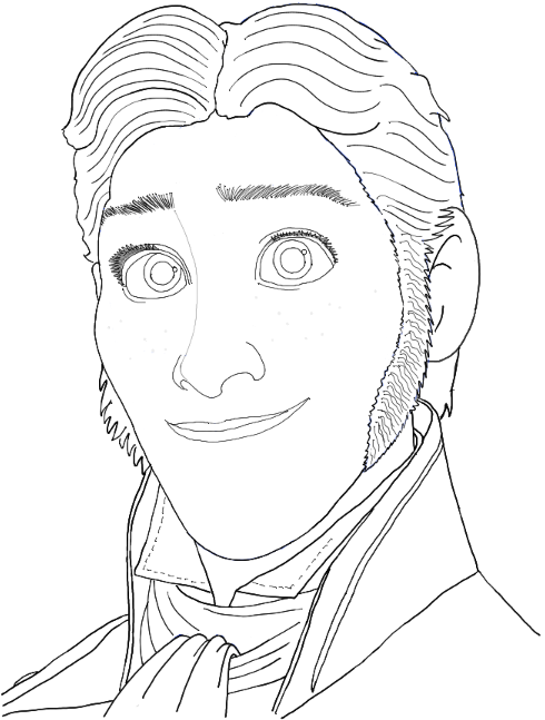 how to draw frozen characters how to draw prince hans from frozen with easy step by step frozen draw characters how to