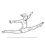 how to draw gymnastics 26 best images about gymnastics drawing on pinterest gymnastics to how draw
