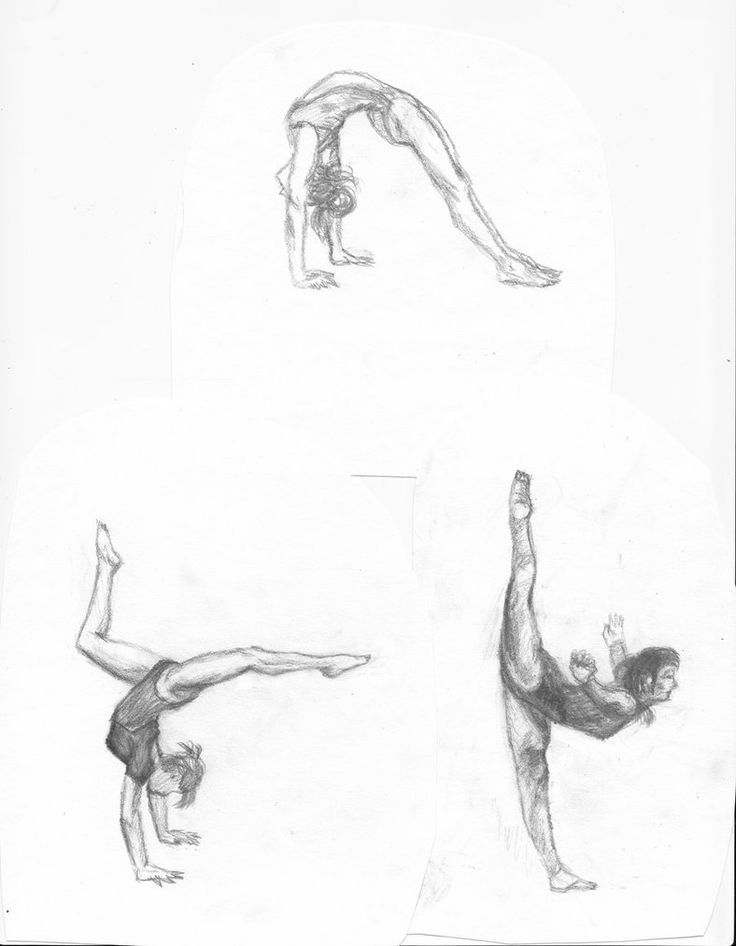 how to draw gymnastics gymnast drawing at getdrawings free download draw how to gymnastics