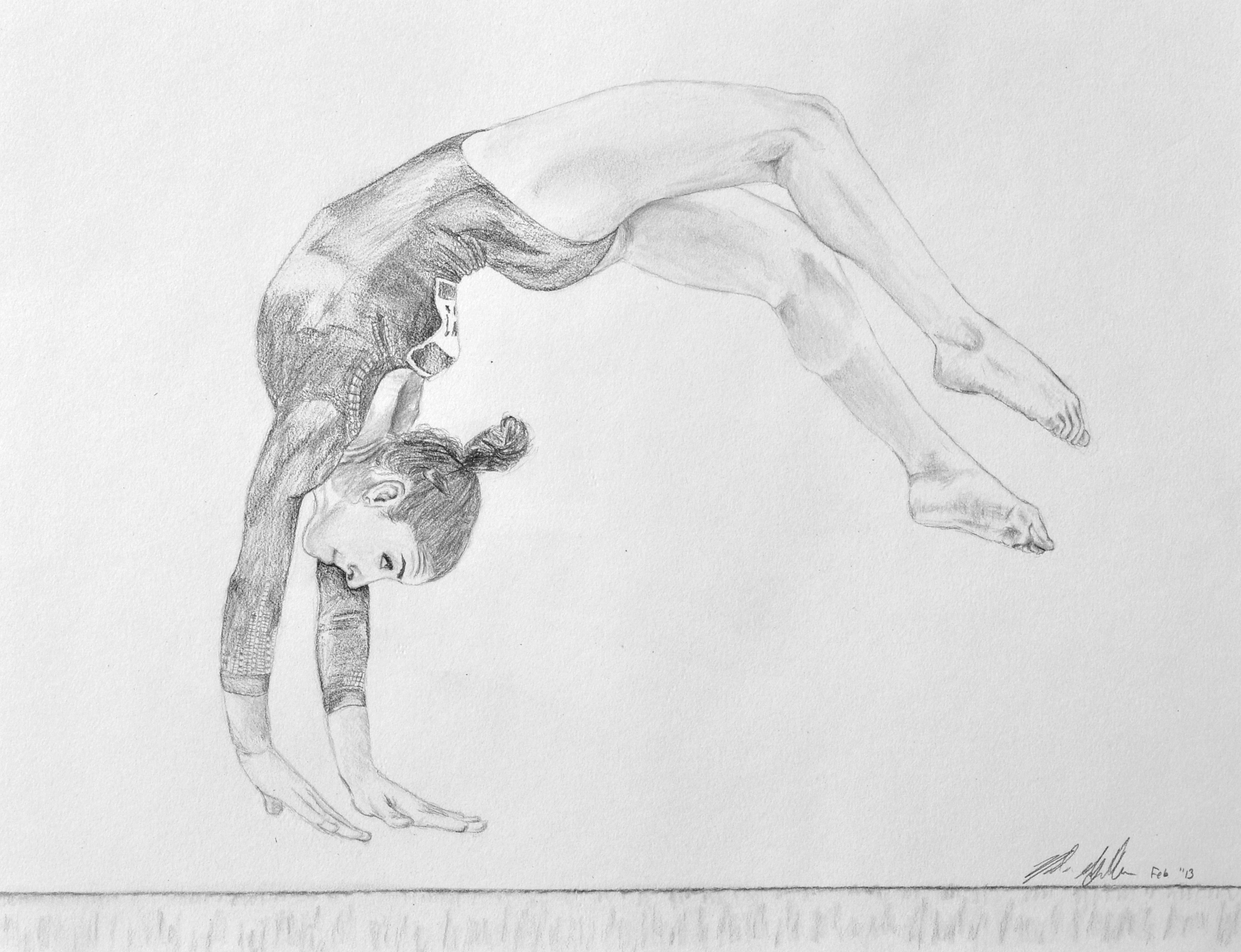 how to draw gymnastics gymnastics drawings easy free download on clipartmag how to gymnastics draw