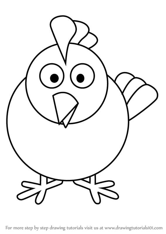how to draw hen step by step learn how to draw a hen easy drawings how draw step hen step by to