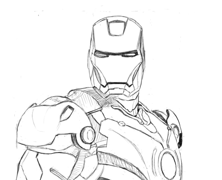 how to draw ironman step by step easy iron man drawing at getdrawings free download to step draw how step ironman by