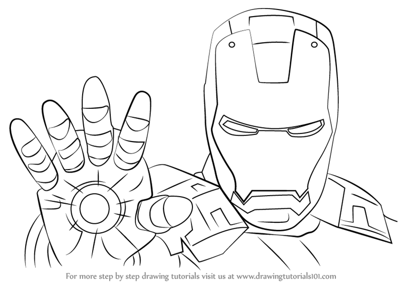 how to draw ironman step by step how to draw iron man in a few easy steps easy drawing step by draw ironman step to how