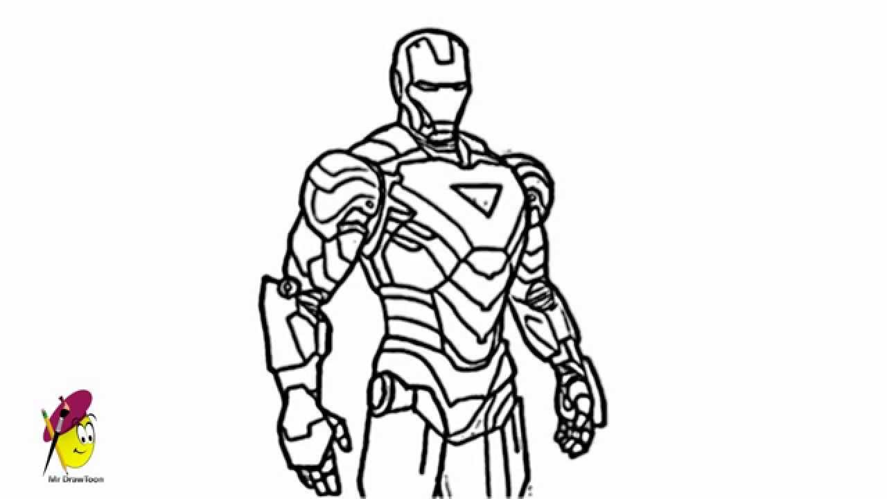 how to draw ironman step by step how to draw iron man with easy step by step drawing draw by how step to ironman step