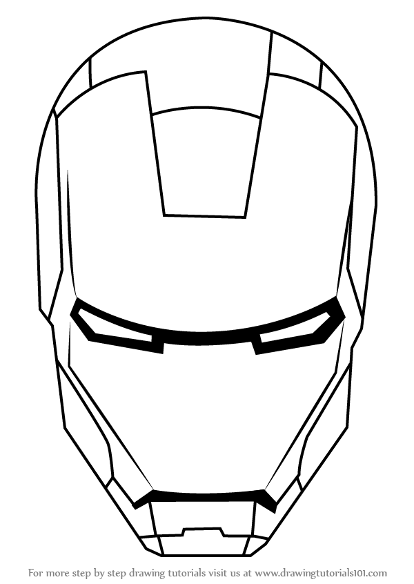 how to draw ironman step by step iron man is a fictional character he is a super hero he step to step draw how ironman by