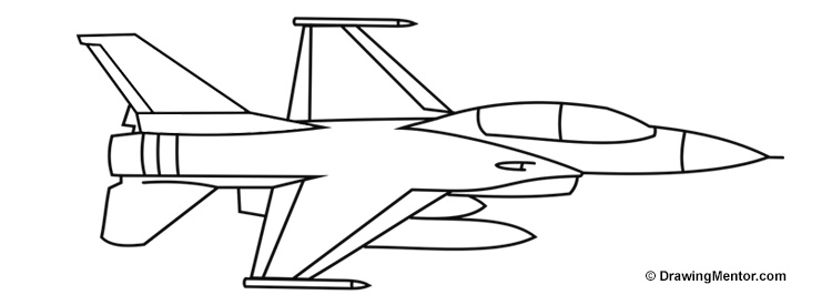 how to draw jet plane how to draw a fighter jet drawingforallnet jet how to plane draw