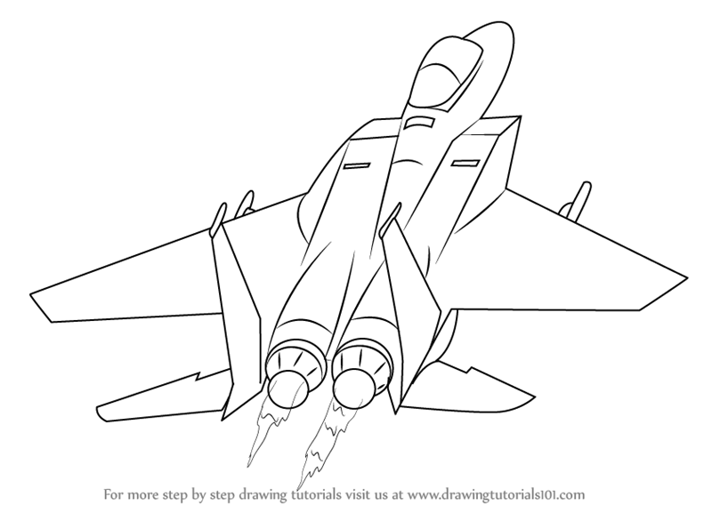 how to draw jet plane plane beginner airplane drawing easy for kids to plane jet how draw