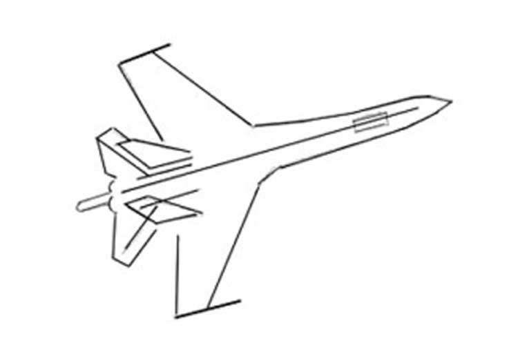 how to draw jet plane tutorial how to draw a plane super easy youtube jet how plane to draw