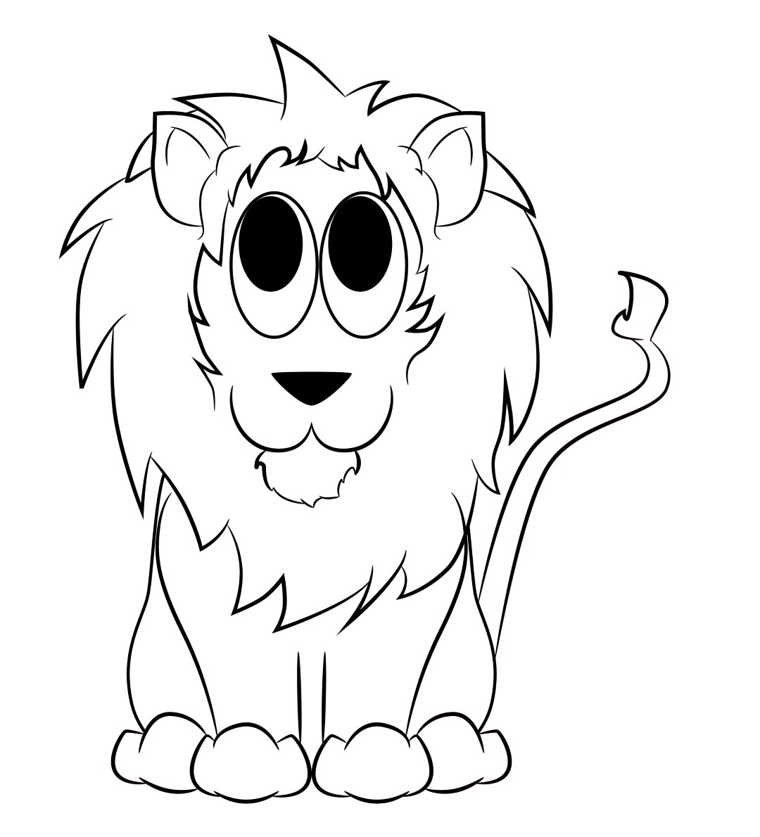 how to draw lion cartoon anime lion drawing at getdrawings free download lion cartoon draw how to