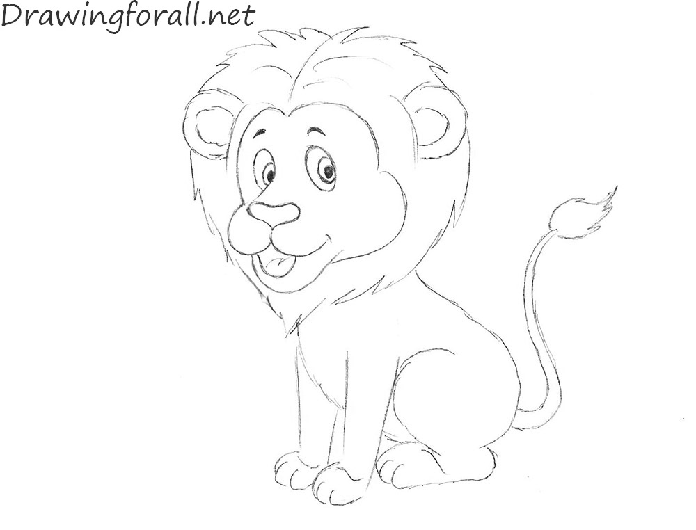 how to draw lion cartoon how to draw a cartoon lion step by step drawing tutorials to draw lion how cartoon