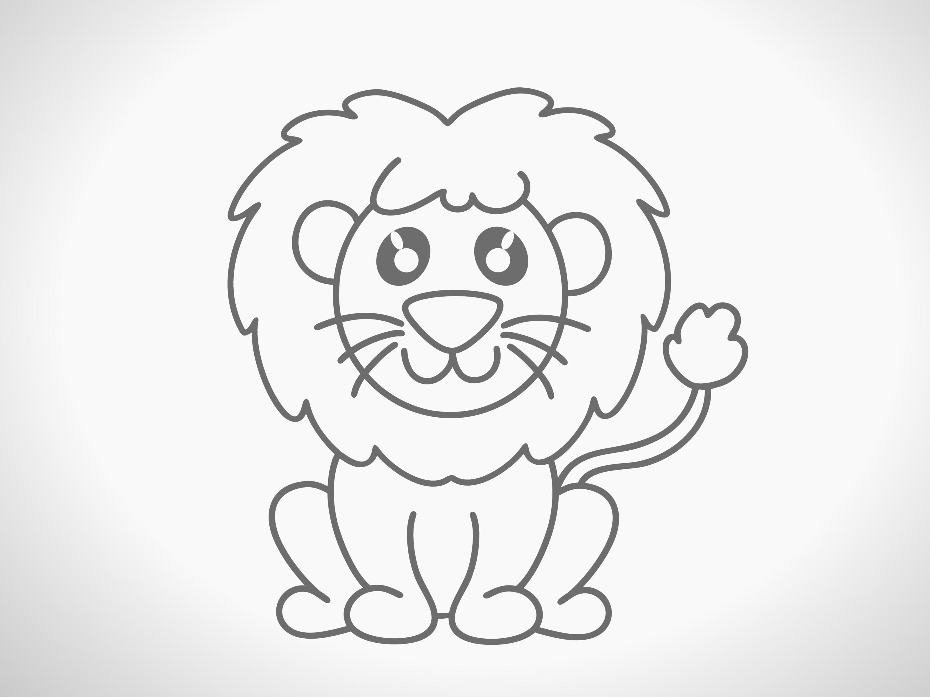 how to draw lion cartoon how to draw a lion cartoon to cartoon lion draw how