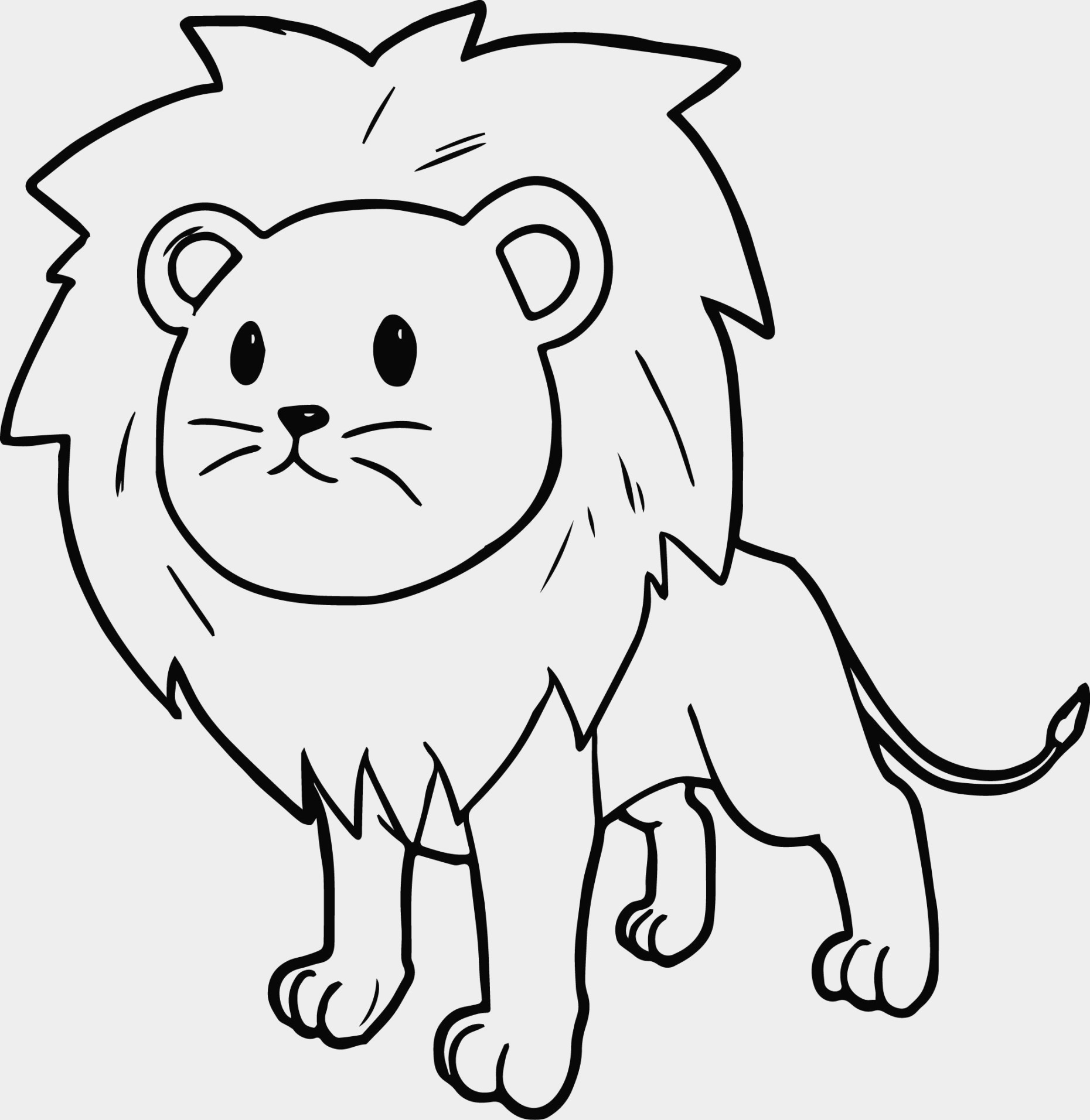 how to draw lion cartoon how to draw lion cubs step by step safari animals how draw to cartoon lion