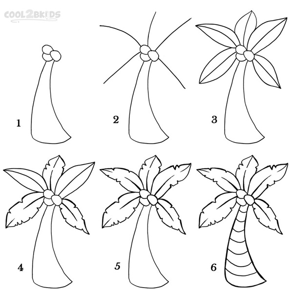 how to draw pine trees step by step how to draw a tree step by step image guides trees how pine step step by draw to